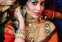 Indian Bridal Makeup and hair / Indian Bridal makeup and hair looks