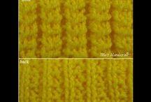video knitting stitch
