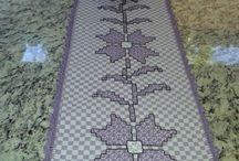 bordado xadrez