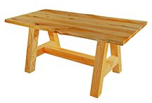 Wooden handmade dining tables