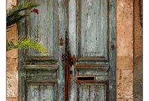 doors and windows / cool doors, vintage doors, windows, archways, niches