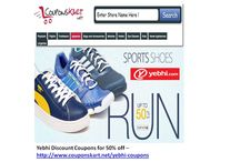 Yebhi Discount Coupons  / Yebhi online shopping store yebhi.com - Discount coupons for getting special sales offers and discounts - clcik at http://www.couponskart.net/yepme-coupons