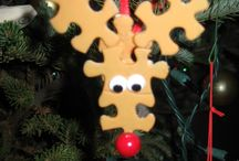 Christmas decorations / Different Christmas crafts