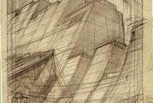 Hugh Ferriss - Desenho / Drawing