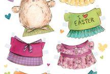Papír húsvét