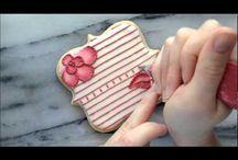 sugar cookies/ embroidery