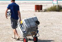 beach trolleys