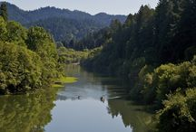 Rivers of Sonoma County, CA / Rivers in Sonoma County, CA.