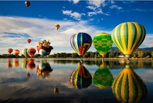hot air balloons / by Angie K. Tolison