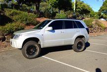 Grand Vitara Off Road , Lift , Tyres , Mod