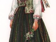 Traditional costumed