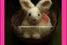 crochet rabbit M♥M