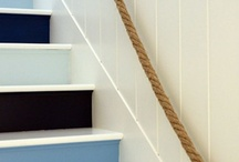 Schody Coastal Decor Style