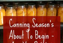 Canning / Recipes, tips, and tutorials for canning. I need all the help I can get.
