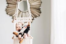 nursery. / nursery decor inspiration. calm and inviting nurseries that transition well into big kid bedrooms.