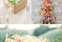 Arreglos de Bodas / Centro de mesas con flores locales Guatemaltecas. ¡Haciendo sueños realidad! Bodas en Guatemala.