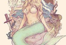 Русалка /  Mermaid