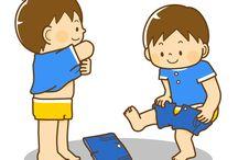 Apprentissage : routine enfant