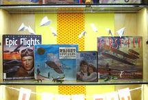 Library Displays / Библиотечные выставки