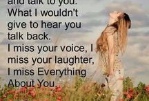 Miss you :/ / by Brianne Fletcher