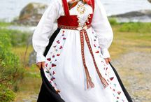 Norwegian bunader and folk dresses