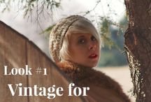 How to Wear Vintage Fashion