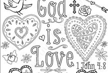 Christian Colouring Pages :)