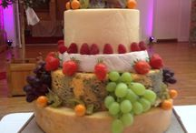 Cheese Wedding Cakes at Wrenbury Hall / 2014 saw lots of our Bride & Grooms opting for a Cheese Wedding Cake...