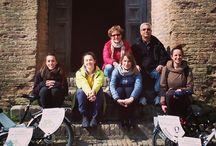 perugia in bici elettrica aprile 2015 / Visitw guidate in bici elettrica alla scoperta degli aspetti più successivi di Perugia