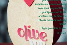 On Valentine's Day / Card by BHG Poem by Myriam O