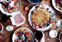 waffle and pancake