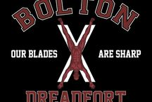 Bolton / You'll look as sharp as a Bolton blade with one of these designs