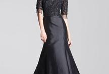 Abendmode Abendkleider Schwarz