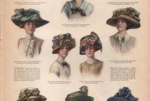 Fashion: Pre World War I / Those oh-so-romantic & elegant hats and dresses!
