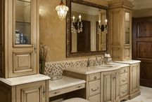Master Bath-New Home / by Lindsey Wallace Van Wingerden