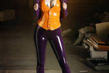 latex cosplay / joker