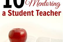 Student Teachers / Resources for mentoring & sharing with student teachers