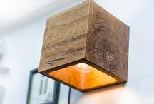 Lichtdesign Holz