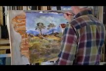 How to create an oil painting