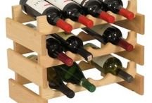 Natural Wood Wine Bottle Rack / Natural Wood Wine Bottle from solid wood Mallet beautiful Dakota Wines Racks will store and display wine in style. Dakota Wine Holders most versatile and just assembled racking system