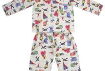 Boys pyjamas - summer cotton boys pjs