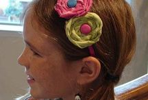 Hair Accessories to Make  / Someday