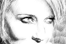 Tegning portrett