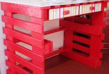 pallet ideas / by Barbara Crowell