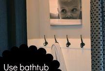 Grant's new bathroom / by Christine Cananzi Lawson