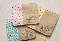 Sewing - mug rugs & cozies