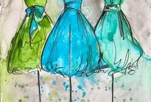Illustrations, aquarelles, dessins, toiles...