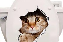 3D Wall Stickers Cats