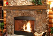 Cool Ideas for Fireplaces / by maureen stepp
