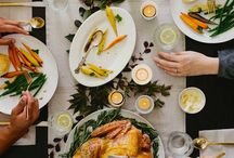 Food | Thanksgiving / Food & entertaining inspiration for my favorite holiday!